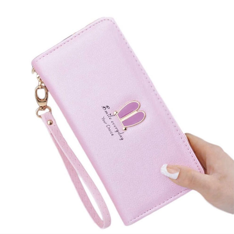 PU Leather Women Purse Wallets female Famous Brand Designer Long Wallet Women Wallets Bag Ladies Cute Simple fashion Coin Purse ly shark cartoon dog women purse bag designer wallets famous brand women wallet long money clip dollar price zipper coin pockets