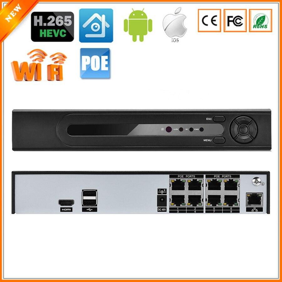 BESDER ONVIF P2P H.265 PoE NVR Max 4 K 4CH 5MP 8CH 4MP Surveillance CCTV NVR IEE802.3af 48 V PoE HI3798M pour caméra IP H.265 H.264-in Enregistreur de vidéosurveillance from Sécurité et Protection    1