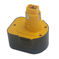 For DeWalt DVISI 12V 3600mAh Battery Rechargeable Power Tools Batteries Cordless Drill for DE9071 2802K DE9074 DE9075 Ni MH