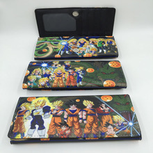 Dragon Ball/Pokemon Multifunction Long Wallet/Purse with Button (31 styles)