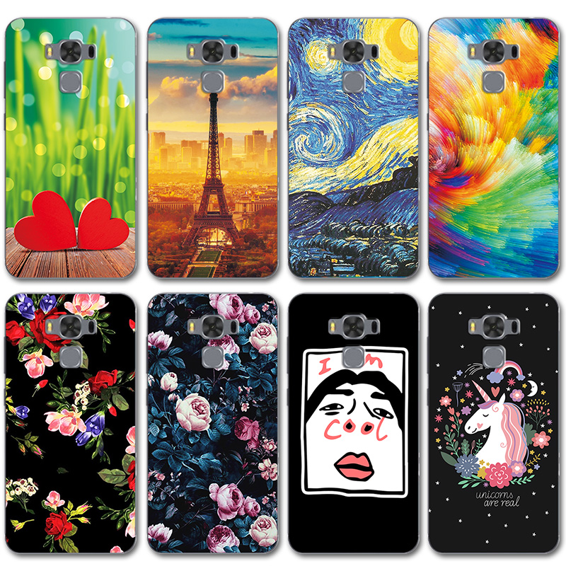 Cellphones & Telecommunications 3max Novelty Painted Case Cover For Asus Zenfone 3 Max Zc520tl Silicone Cases For Zenfone Zc 520tl Phone Shell Coque Landscape Phone Bags & Cases