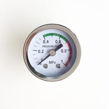 PT 1 8 #8222 150 psi manometr dla co2 specjalne rury akwarium CO2 system części urządzeń akcesoria barometr powietrza tanie i dobre opinie NONE