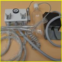Portable Dental Turbine Unit Wall Mount Work with Air Compressor Triplex Syringe