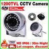Sale Mini Surveillance 1 3cmos 1200TVL LED Security Infrared 30m Color Ahdl CCTV Hd Camera Outdoor