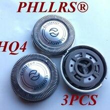 3 шт. HQ4 бритвенное лезвие с близким срезом Сменная головка для бритвы philips HQ56 HQ55 HQ54 hq46 HQ3 Reflex Plus HQ6843 HQ300 HQ64 HQ916