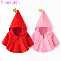 2017 New Spring Autumn Girls Kids Boys Windbreaker Cloak Coat Comfortable Cute Baby Clothes With New