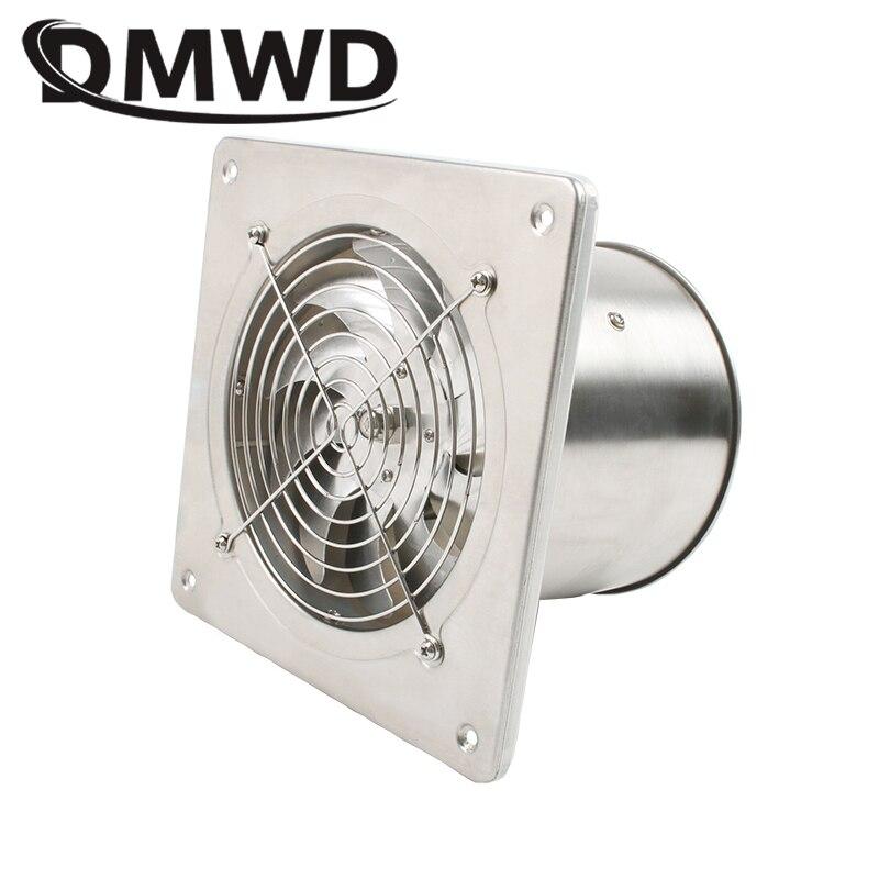 DMWD 6 Inch Window Wall Ventilation Exhaust Blower Cooling Duct Air Fan Toilet Bathroom Kitchen Window Extractor 6'' Ventilator