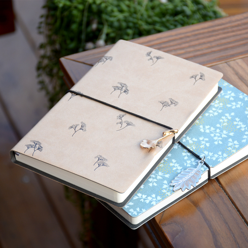 PU Vintage Blank Notebook Drawing Planner, Lovely Journal Travel Diary Pocket Size Notepad soft copybook vintage rope spiral notebook pocket diary planner books travel journal notebook sketch craft blank refill paper