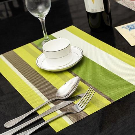 4 teile / los Weihnachten Tischsets PVC Tischset Bar Matte 30 * 45 cm - Küche, Essen und Bar - Foto 2
