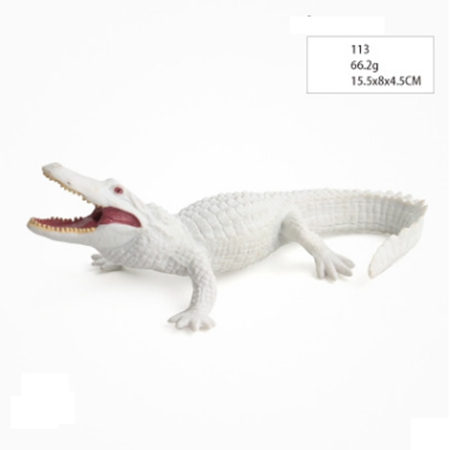 GEEK KING simulation Crocodile Toy Set Plastic Play Toys World Park Crocodile Model Action Figures Kids Boy Gift Home Decor in Action Toy Figures from Toys Hobbies