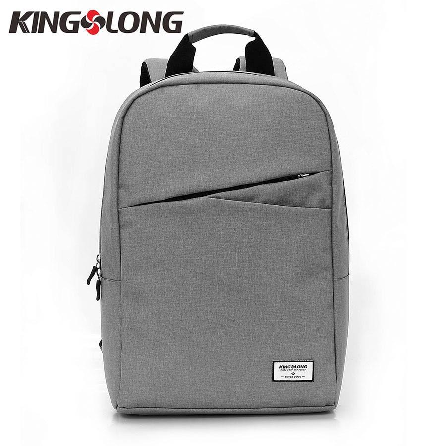 f3e812f3b5 Best buy KINGSLONG Men Casual Backpack 15.6 Inch Laptop Backpack Waterproof  Daypack School Bag for Teenagers Diagonal Zipper Rucksack  53 online cheap
