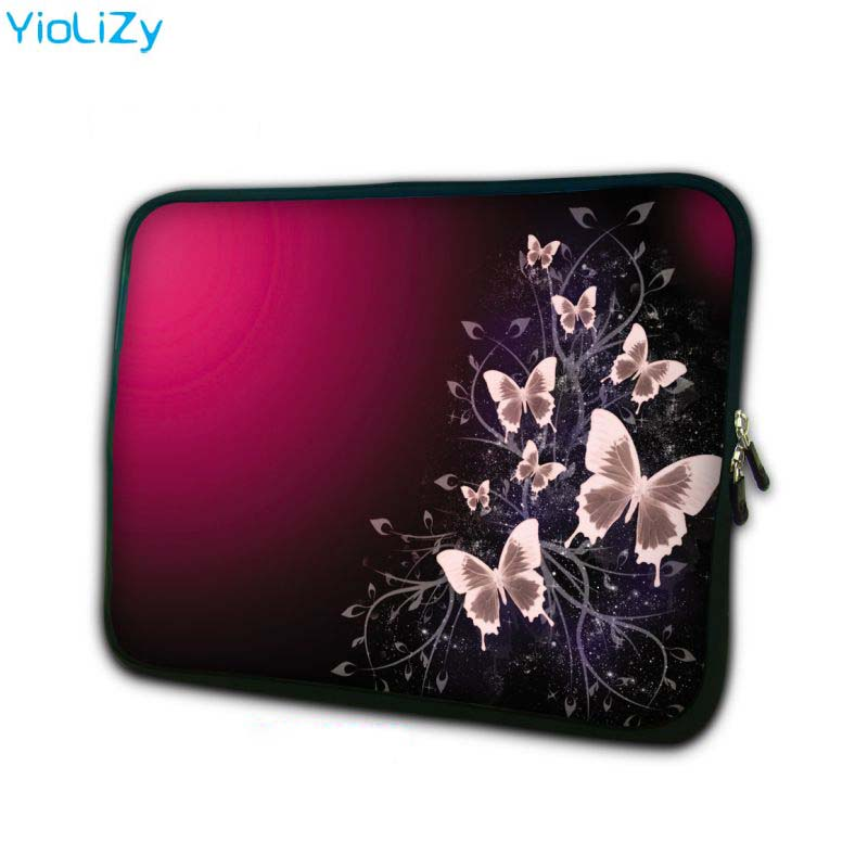 Red butterfly mini 7.9 laptop sleeve soft notebook bag tablet case 7 PC protective cover for ipad 4 TB-5567