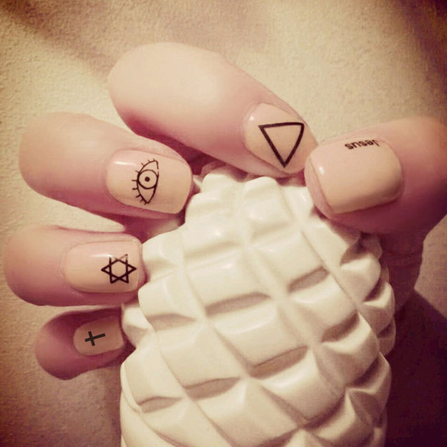 Solid color nail art images nail art and nail design ideas 24pcsbox chic nude solid color nail art false nails short 24pcsbox chic nude solid color nail prinsesfo Image collections