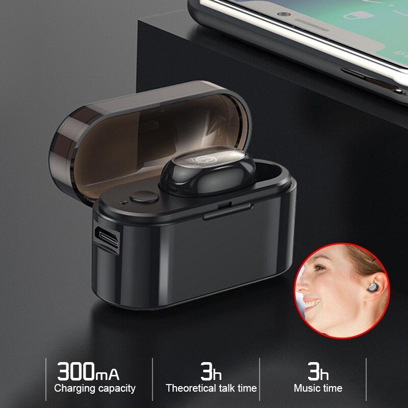 Telefone & Zubehör Computer & Büro Ehrlichkeit Drahtlose Ohrhörer Hände-freies Kopfhörer Bluetooth Headset Stereo In Ohr Tragbare Lärm Reduktion Durable 10 M Für Tws