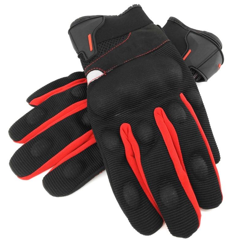 IRON JIAS Guantes de motos motocicleta para carreras todo terreno XL, Red guantes de moto para pantallas t/áctiles resistentes a ca/ídas