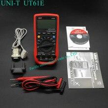 UNI-T UT61E Высокая Надежность Цифровой Мультиметр Современные Цифровые Мультиметры AC DC Метр Multitester CD и Удержания Данных