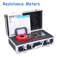 Digital Clamp On Ground Earth Resistance Tester Meter / Clamp Earth Resistance Tester ETCR2100A+