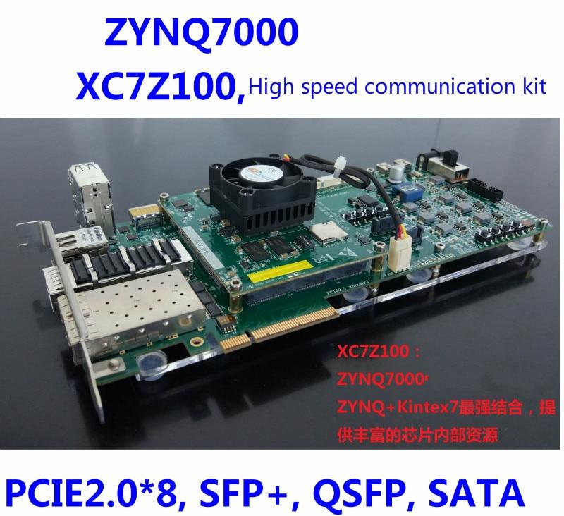 ZYNQ7000, ZYNQ, Kintex-7 Development Board, XC7Z100, Sata, PCIe, 10G Ethernet(China)