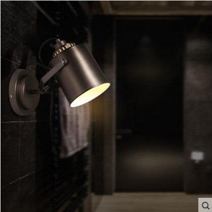 Лофт Промышленные Винтаж настенные светильники светодиодные wrount Утюг рядом с светильник arandela <font><b>aplik</b></font> Lamparas