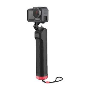Image 2 - Kaymaz kavrama kolu eylem kamera yüzen el kavrama PGYTECH spor kolu Tripod DJI OSMO için eylem kamera
