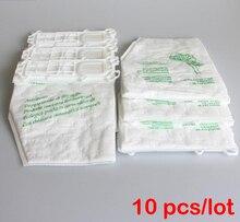 10 pz/lotto sacchi per aspirapolvere Sacchetto di Polvere per Vorwerk VK135 VK136 FP135 FP136 KOBOLD135 KOBOLD136 VK369