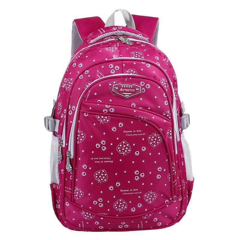 Детские школьные сумки Девушки Рюкзак Детские Ранцы ортопедические рюкзаки Начальная Рюкзак Книга сумка Mochila Infantil