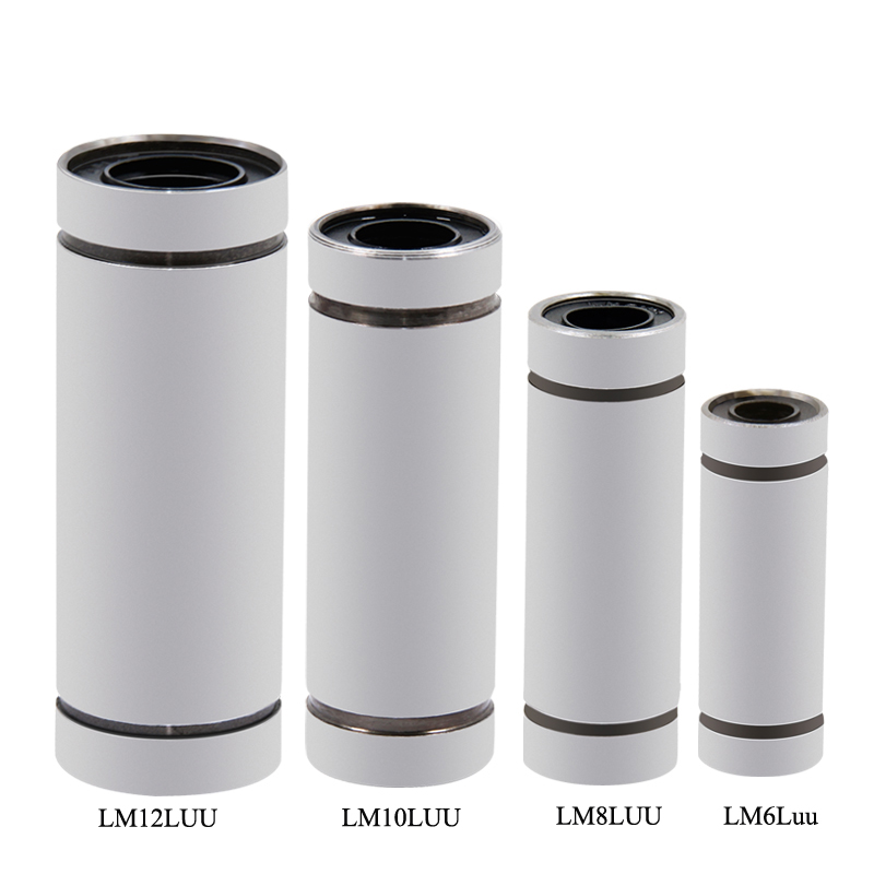 1pc LM6LUU LM8LUU LM10LUU LM12LUU Linear Ball Bearing Bushing For 3D Printer Extended Linear Ball Bearing 3D Printer Parts