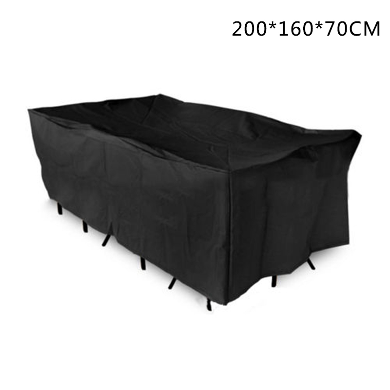 Outdoor Waterproof Garden Bench Furniture Protective Patio Tables & Chairs Cover