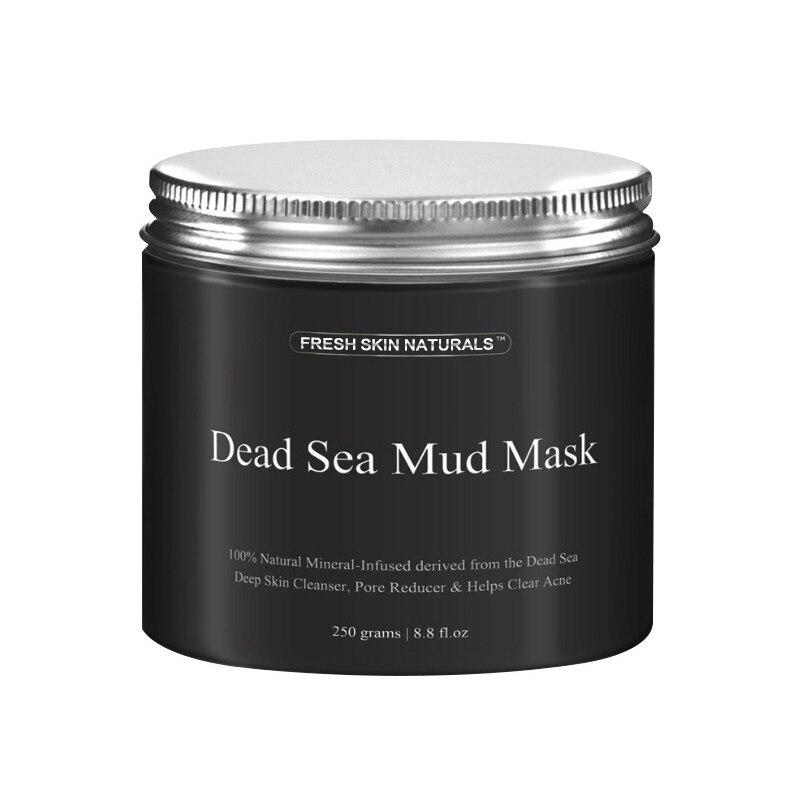 Toten Meer Schlamm-maske Tiefenreinigung Schwarz Maske Feuchtigkeitsspendende Akne Blemish Clearing Lightening Feuchtigkeitscreme Nährende Pore Reiniger