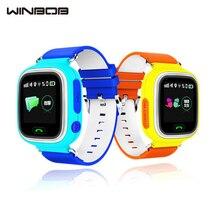 Winbob GPS Q90 Сенсорный экран WI-FI позиционирования Смарт-часы SOS вызова Расположение Finder устройства трекер малыш безопасный анти потерял Мониторы