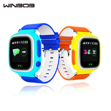 WINBOB GPS Q90 Contact Display screen WIFI Positioning Sensible Watch SOS Name Location Finder Gadget Tracker Child Protected Anti Misplaced Monitor