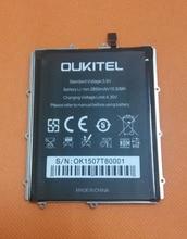 """Оригинальный 2850 мАч аккумулятор аккумулятор Batterij Bateria для OUKITEL U8 FDD-LTE 4 г 5.5 """" HD MTK6735 четырехъядерных процессоров"""