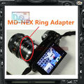 Lens mount Adapter Ring MD-NEX For Minolta MD MC Lens And SONY NEX E Mount body NEX5 NEX5N NEX7 NEX-C3 NEX-F3 NEX-5R NEX6 PRR03