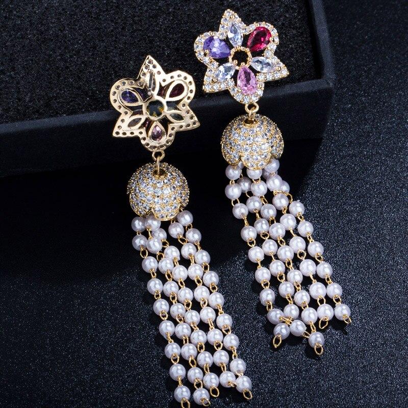 Long Tassel Earrings4