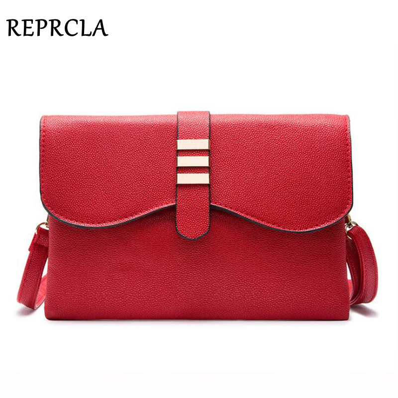 REPRCLA Double Layers Women Messenger Bags Fashion Handbags Day Clutch PU Leather Shoulder Bag Ladies Crossbody Women Bags glitter sequins women pu chain handbags messenger crossbody bags party shoulder sling bags fashion girls shinning clutch bags