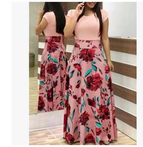7901dbaaa23 LASPERAL Women 2018 Summer Long Robe Femme Maxi Dress
