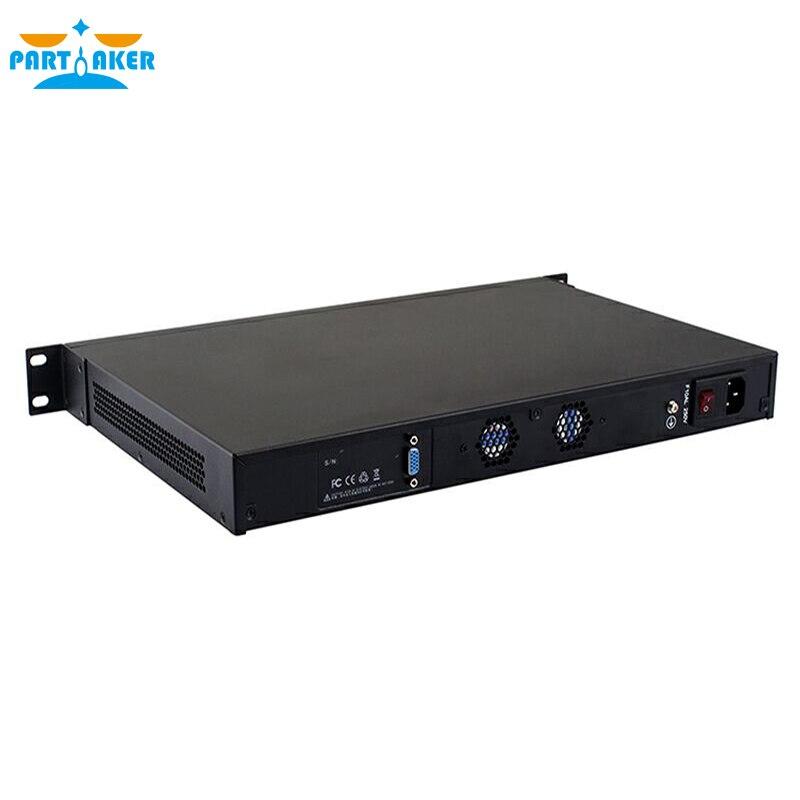 Intel Dual Core N2600 pfsense с Монтажный кронштейн уши 4 Порты LAN причастником r12 2 г Оперативная память 8 г SSD