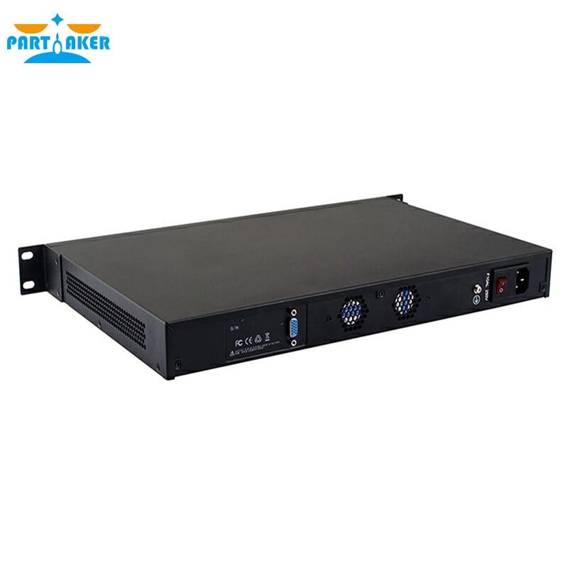 Intel Intel Dual Core N2600 PFSense With Mounting Bracket Ears 4 LAN Ports PARTAKER R12 2G RAM 8G SSD