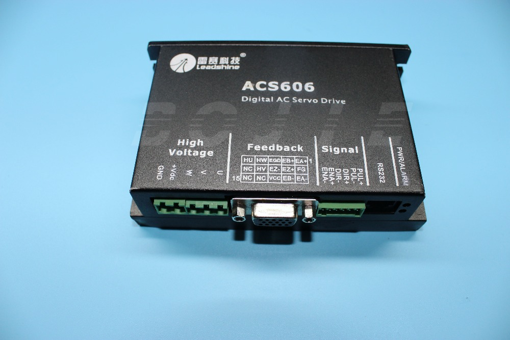 Hot Sales!! Leadshine ACS606 servo driver for Myjet inkjet printer myjet printer media sensor
