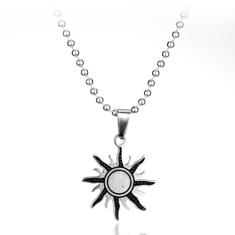 Supernatural Anti possession Necklace Dean Sun Symbol Sigil