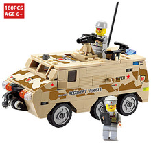 цена Enlighten Child Rescue cars 84026 KAZI military brick,building block sets,toy blocks plastic educational building free Shipping онлайн в 2017 году