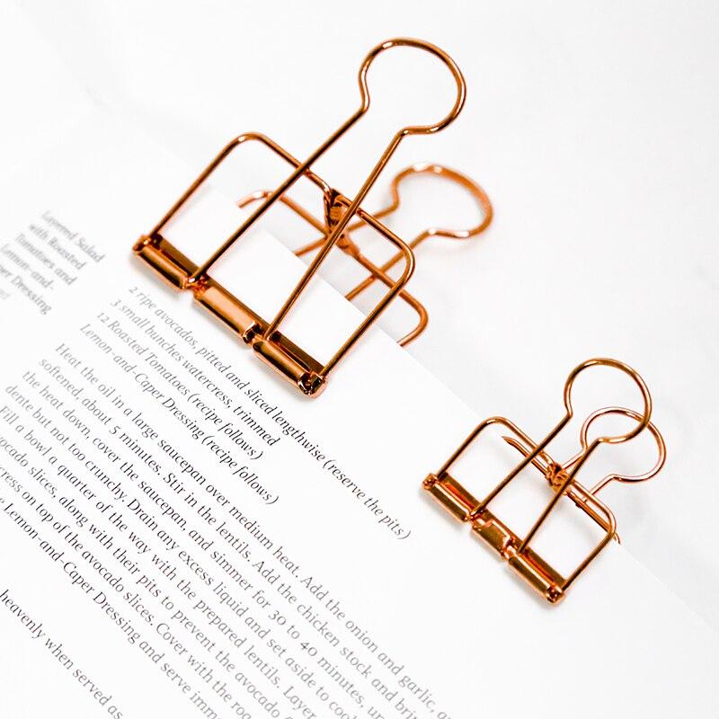 1 Pcs Cute Kawaii Photo Decorative Metal Quality Binder Paper Clips Desk Office Accessories School Supplies