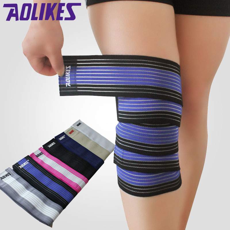1pcs Elastic Bandage Wrist Knee Ankle Arm Support Bands Bandage