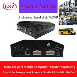 AHD720P HD samochód DVR samochodu 8-kanałowy rejestrator monitor systemu hosta zdalnego monitorowania hosta