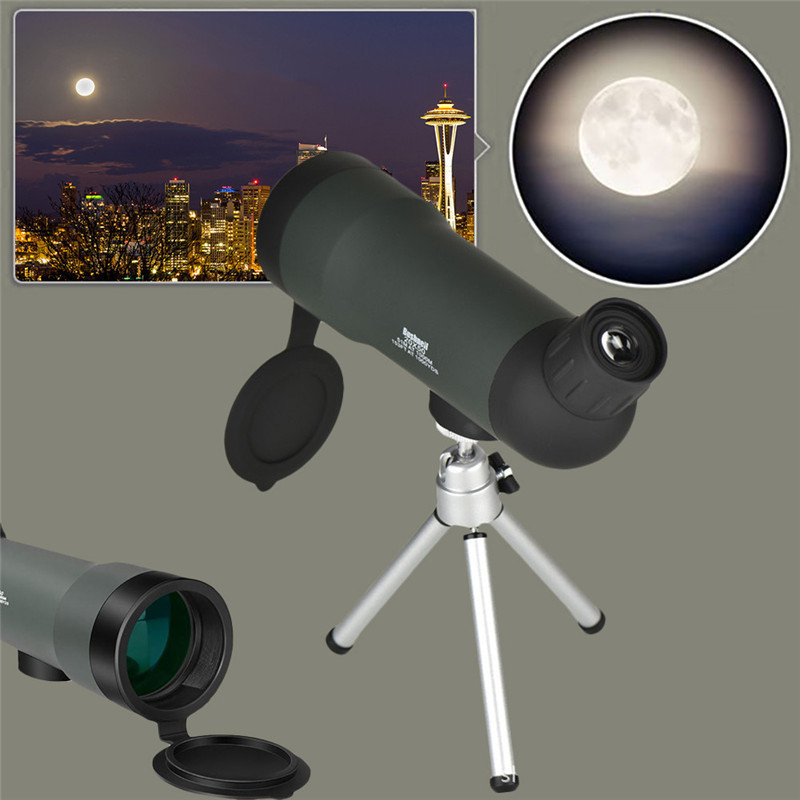 <font><b>20x50</b></font> Zoom HD <font><b>Monocular</b></font> Outdoor Telescope Night Version Spotting Scope With Portable Tripod image