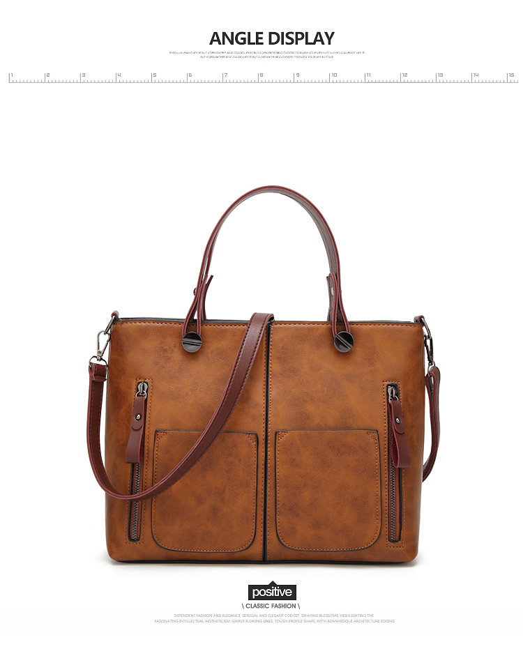 Tinkin Vintage   Shoulder Bag Female Causal Totes for Daily Shopping 17