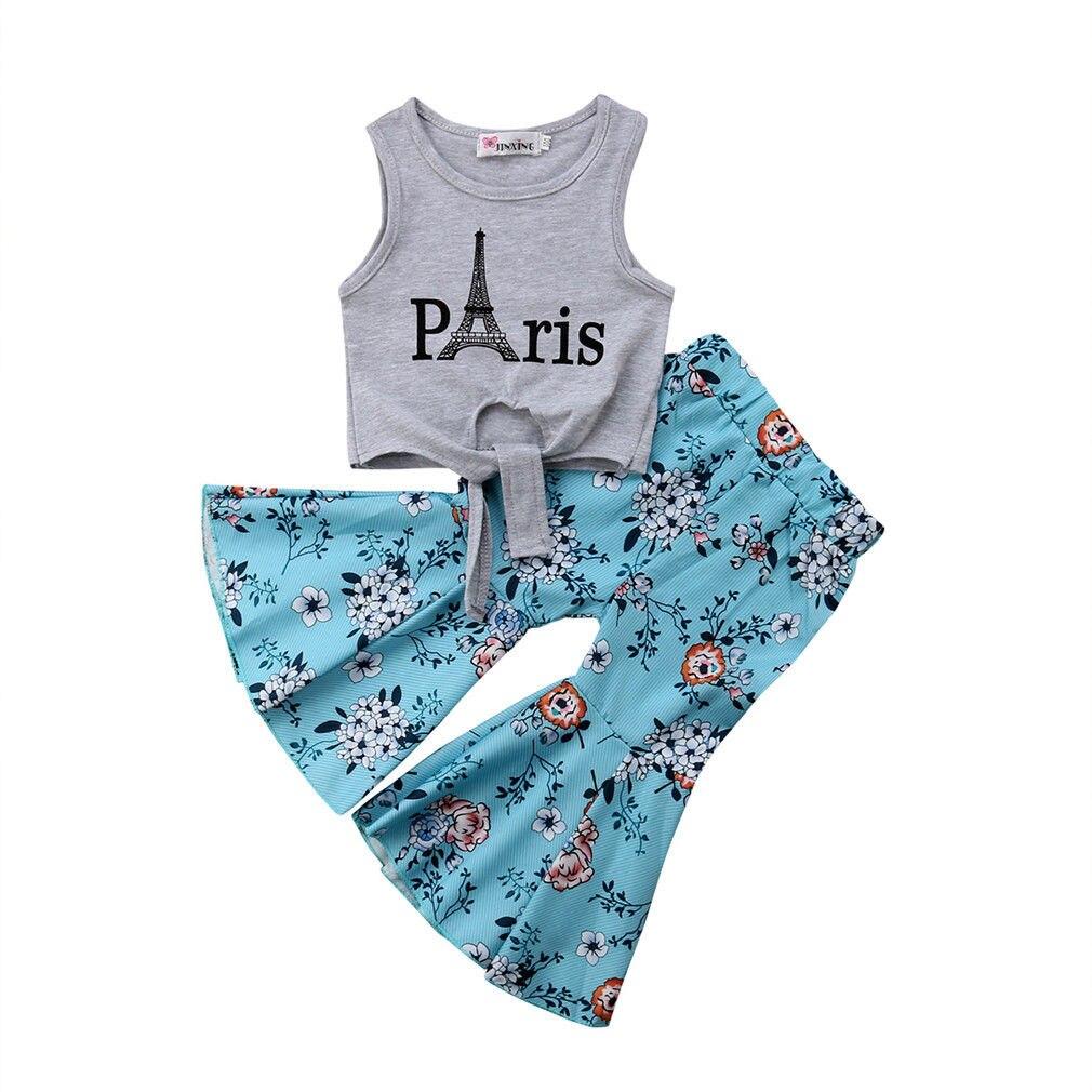 Paris Eiffel Towel Cotton Girl Baby Bodysuit Short Sleeve Romper Jumpsuits One-Piece Coverall