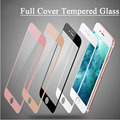 9H Colorful Full Cover Tempered Glass Screen Protector For iPhone 7 6 6s 7plus Toughened Glass Protective Film pelicula de vidro