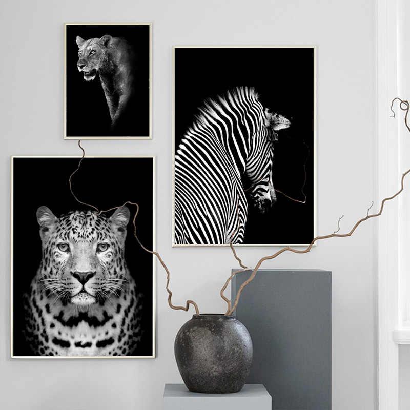 Черный белый слон жираф Зебра Леопард 5D животное, бриллиант, вышивка полный квадратный/круглый дрель diy алмазная живопись Домашний декор