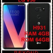 "LG V30 H931 GSM 4G LTE Android Восьмиядерный ОЗУ 4 Гб ПЗУ 64 Гб 6,"" 16 МП и 13 МП сотовый телефон 3300 мАч отпечаток пальца Snapdragon 835"